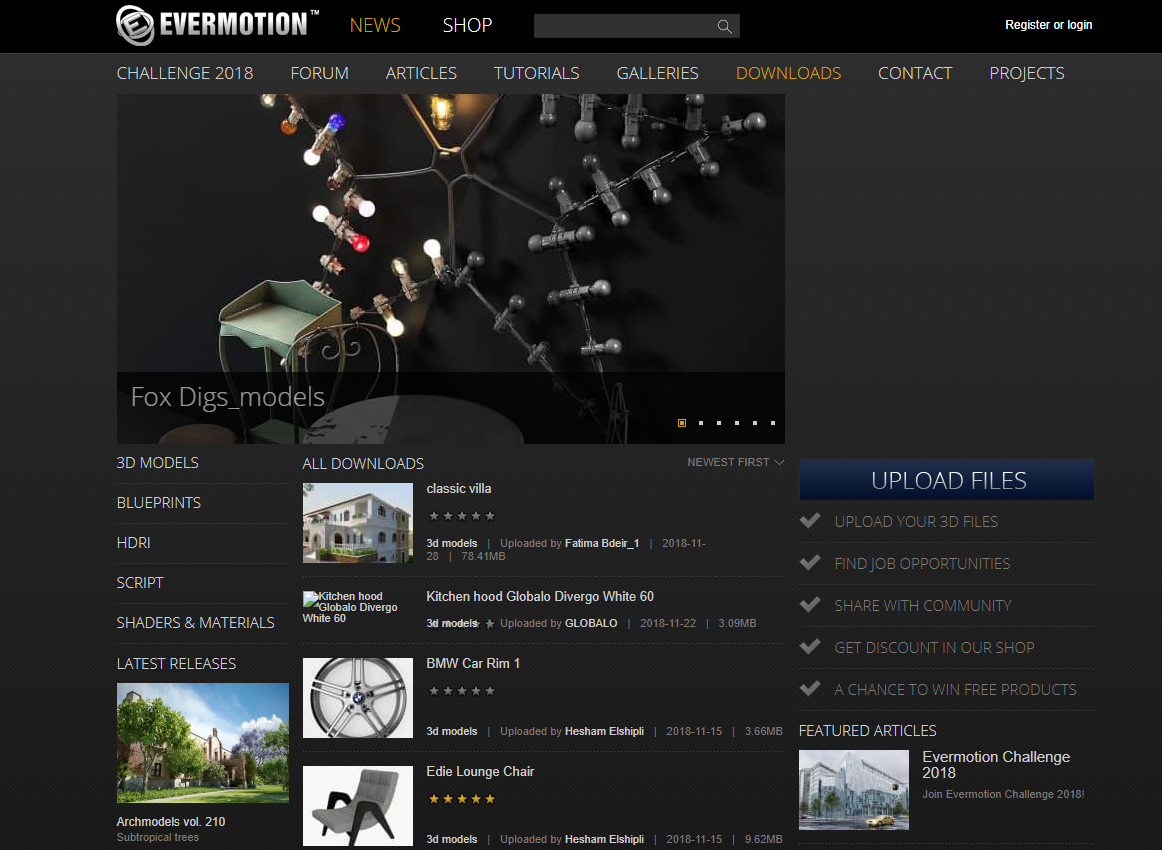 Top 5 Sites To Download Free 3D/CGI Models | eArtisan - Video Game